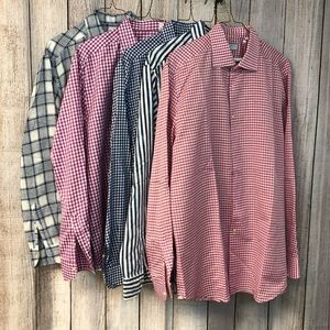 Xacus lot of 5 men's shirts L